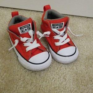Converse toddler boy high tops